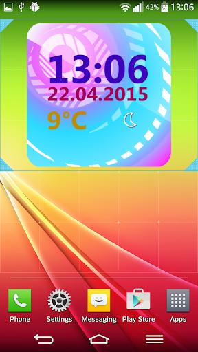 Weather Clock Widget  screenshots 3