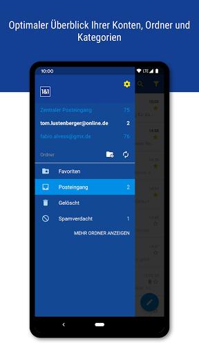 1&1 Mail 6.17.6 screenshots 2