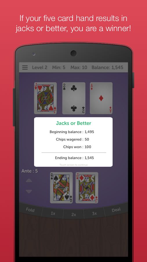 Mississippi Stud 5 Card Poker- screenshot