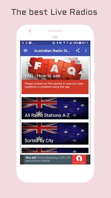 Australian Radio Stations - screenshot