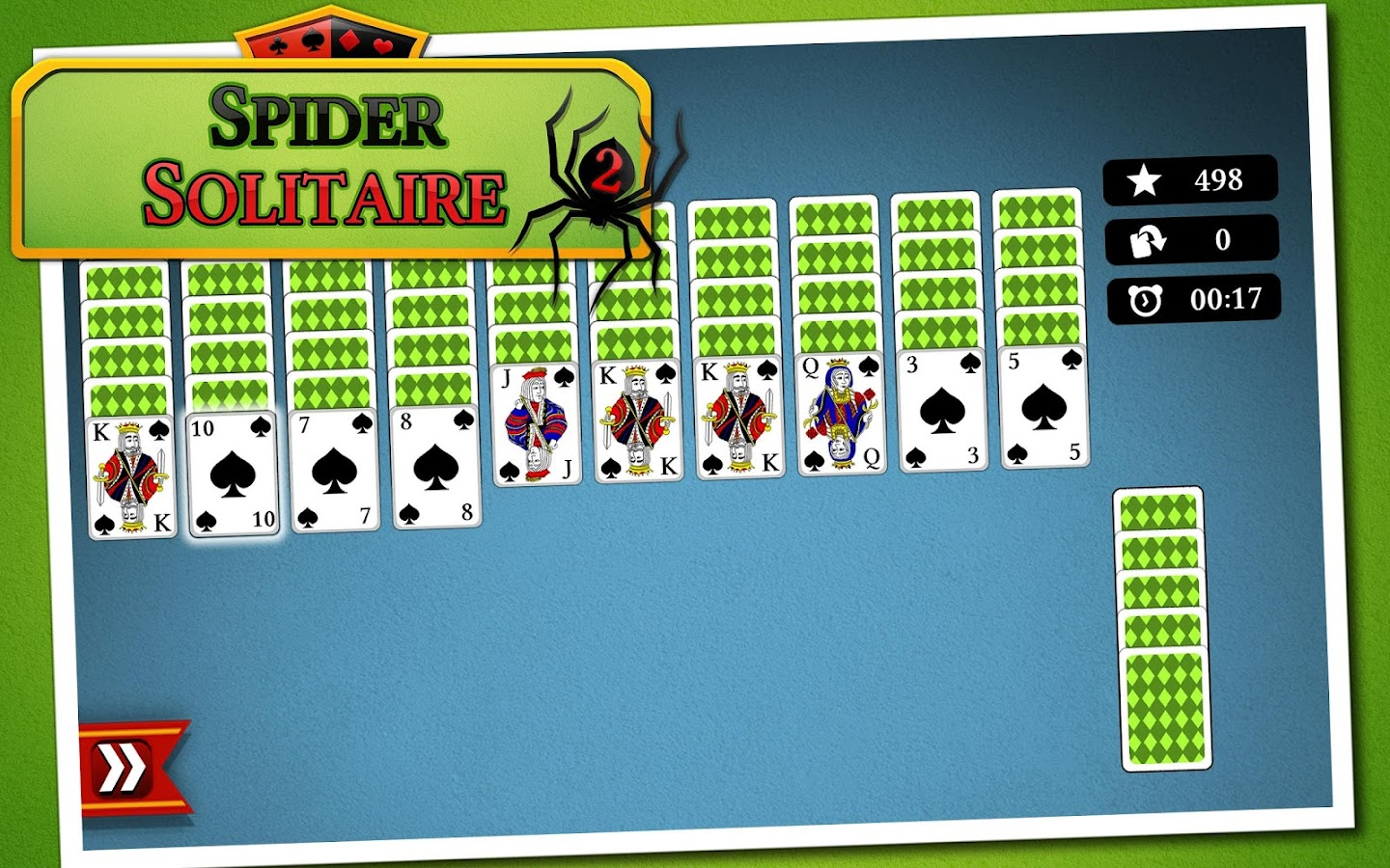 how to play spider solitaire with cards