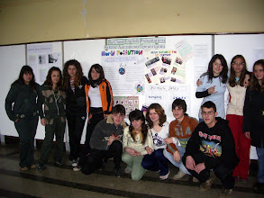 Photo: my 9th graders and their English presentations!