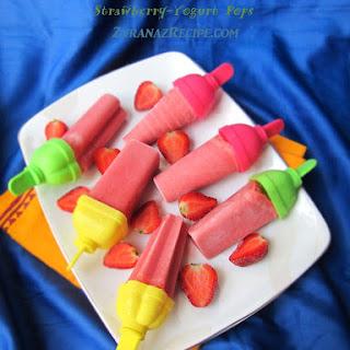 Strawberry-Yogurt Pops Recipe