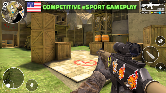 Counter Attack – Multiplayer FPS Mod Apk Download For Android and Iphone 5