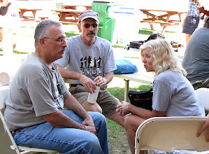 Photo: Marc Berman, Dave Angell, Lynn Lipton- Photo by Fred Robbins