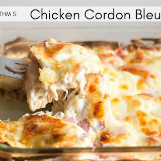 Chicken Cordon Bleu Casserole – Low Carb.