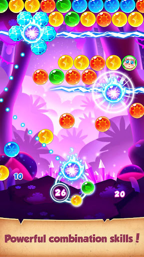 Bubble Elf Fairy - Fantasy Pop Shooter - screenshot