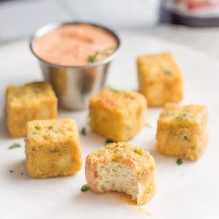 "Tofu ""Chicken"" Nuggets with Sriracha Mayo Recipe"