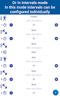 Tabata Timer Interval Timer Workout Timer for HIIT- screenshot thumbnail