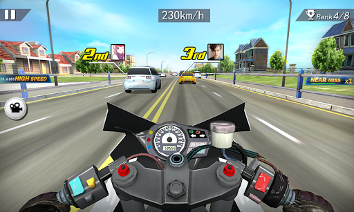 Moto Racing 3D  captures d'écran 5