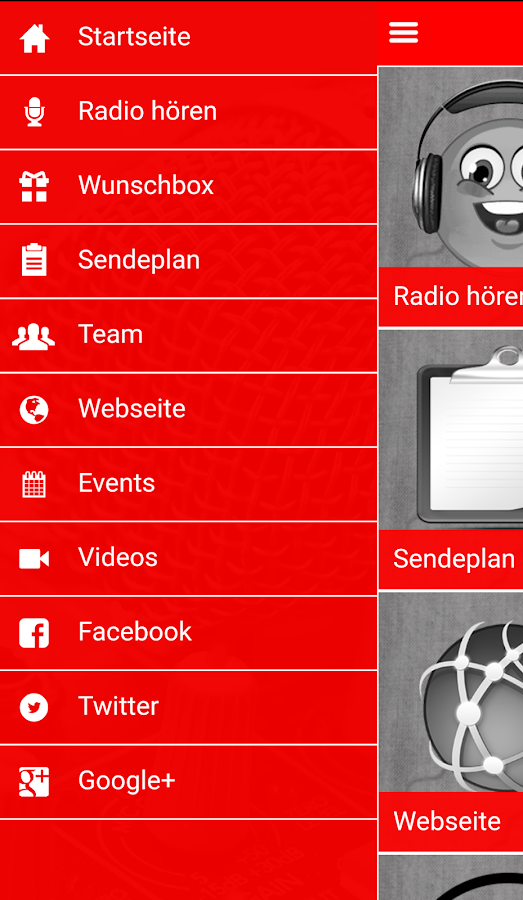Radio RCF- screenshot