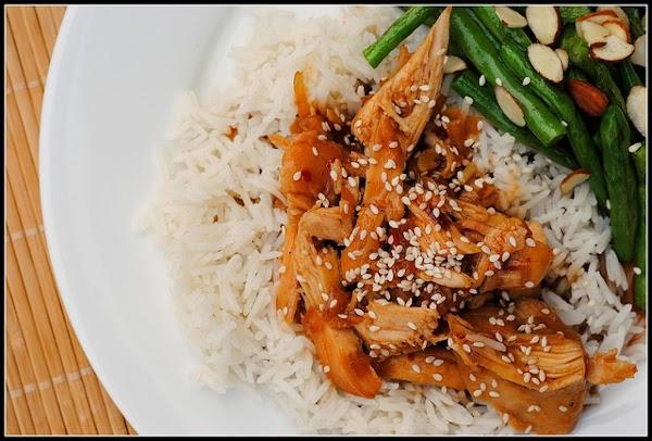Slow Cooker/crock Pot~honey Sesame Chicken Recipe