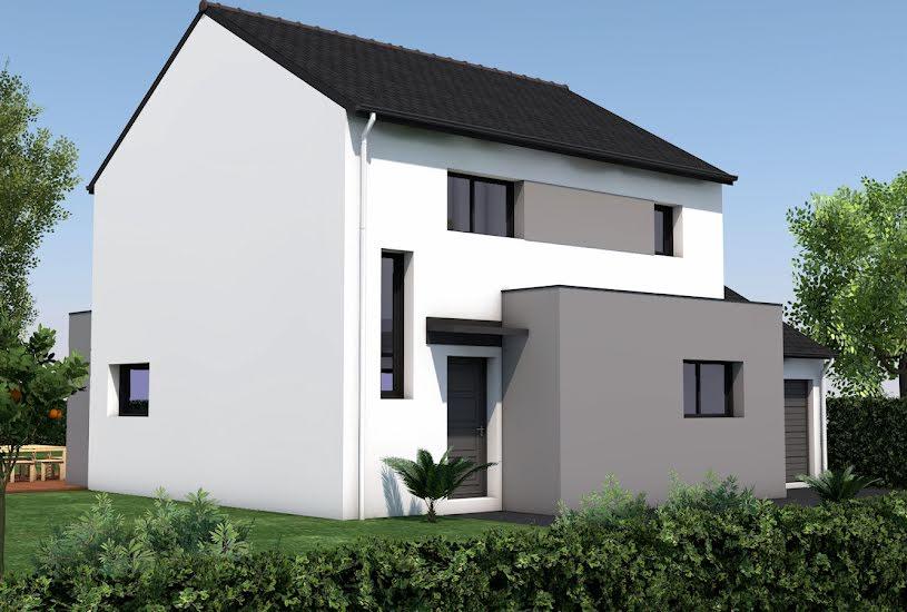 Vente Terrain + Maison - Terrain : 413m² - Maison : 98m² à Nivillac (56130)