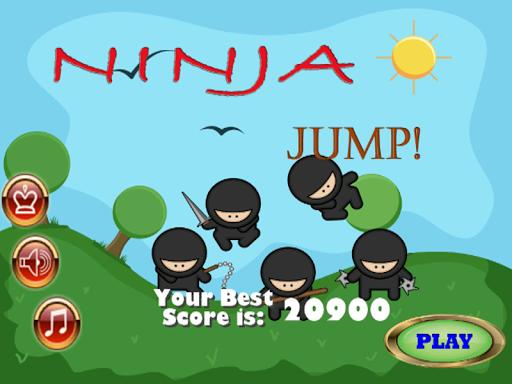 自由のための子供忍者ジャンプゲーム