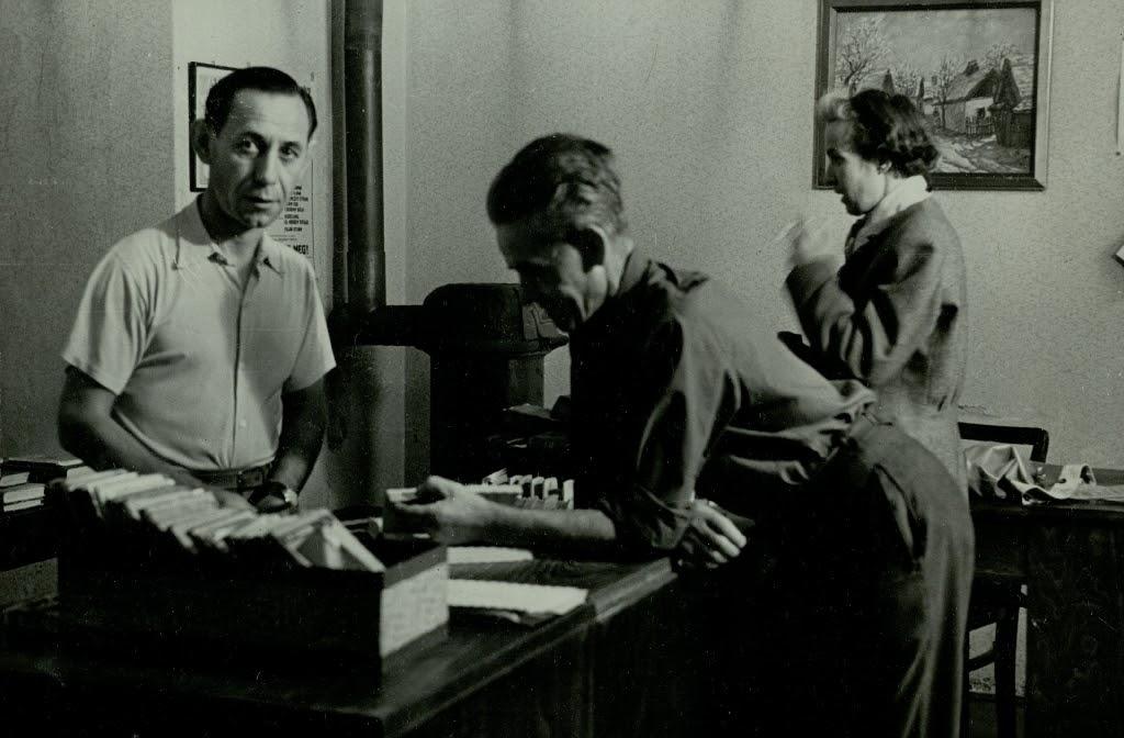 Verseghy Könyvtár 1955