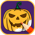 Halloween Coloring Books 2018 icon