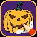 Halloween Coloring Books 2018 icon