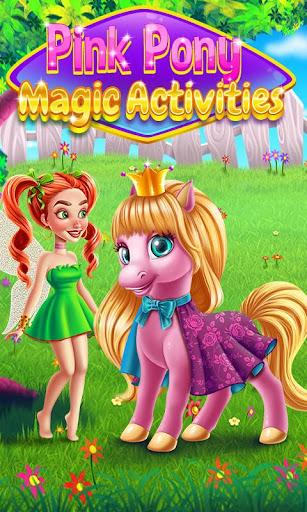 Pink Pony Magic Activities 1.0.3 screenshots 1