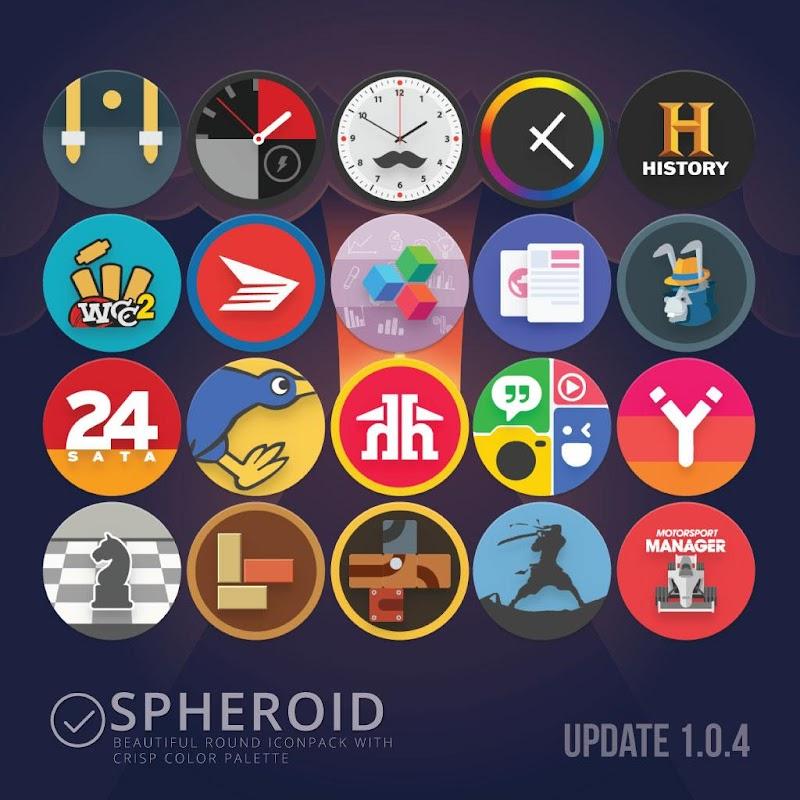 Spheroid Icon Screenshot 4