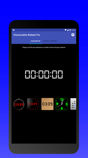 Floating Stopwatch & Timer 7.5 screenshots 2