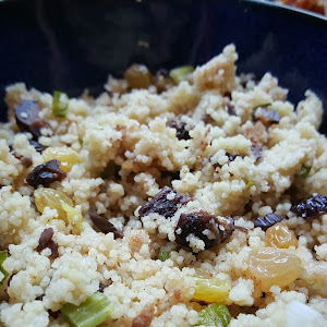 Raisin and Fig Couscous