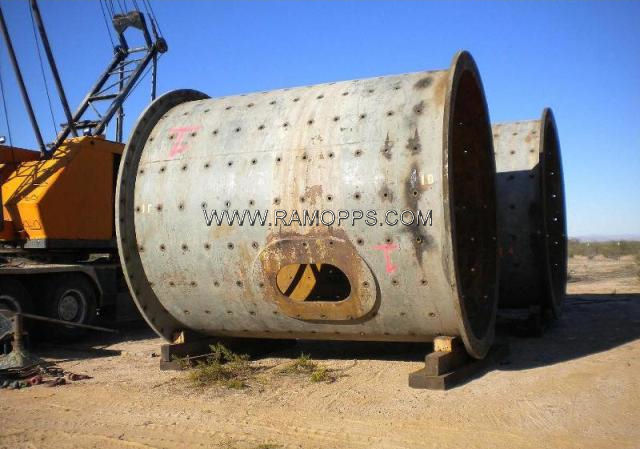 Photo: 10.5ft x 12ft Allis Chalmers Ball Mill