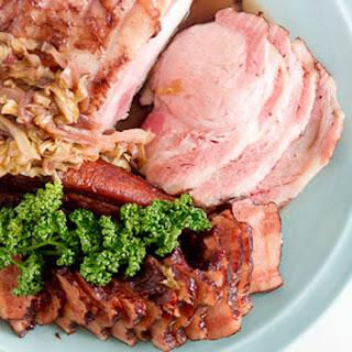 Red Wine Braised Ham
