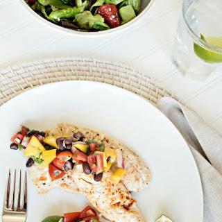 Tilapia with Mango Salsa Recipe