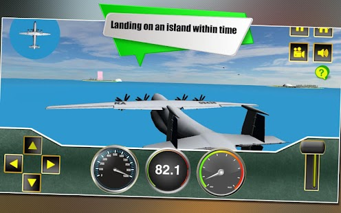 Airport Flight Airplane Sim 3D- screenshot thumbnail