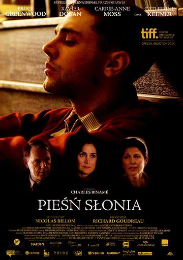 Przód ulotki filmu 'Pieśń Słonia'