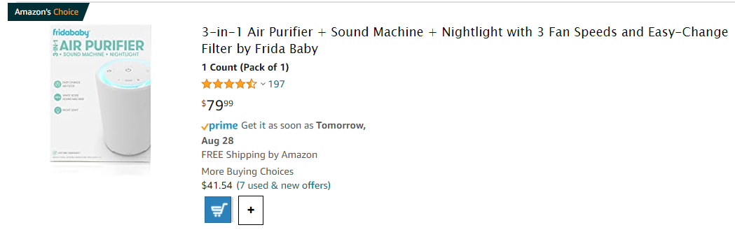Air purifiers to sell online in the baby products niche