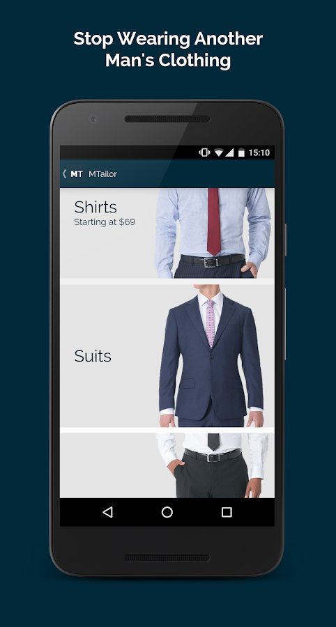 MTailor- screenshot