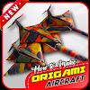 كيفية جعل اوريغامي الطائرات