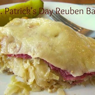 St. Patrick's Day Reuben Bake
