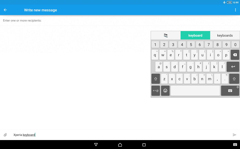 Xperia Keyboard - screenshot