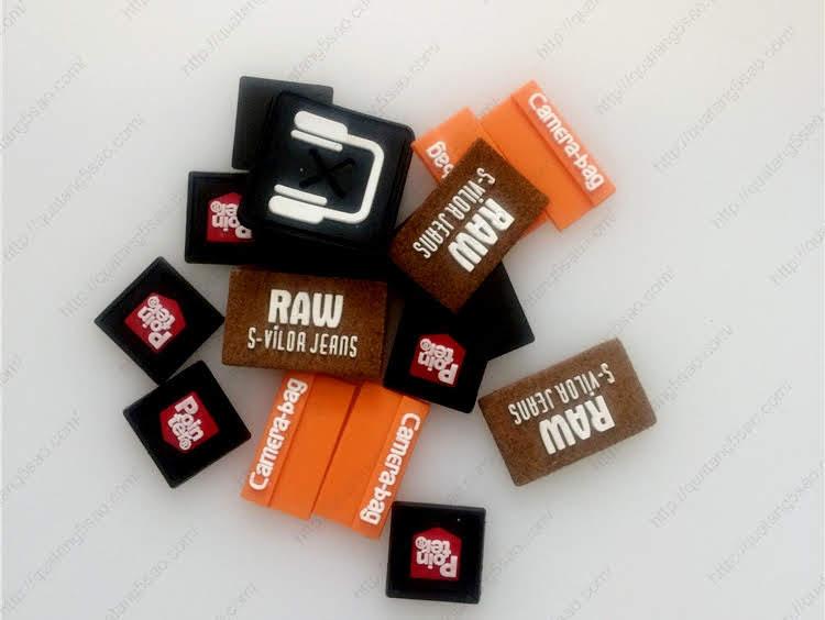 Logo cao su - Logo nhựa dẻo giá rẻ