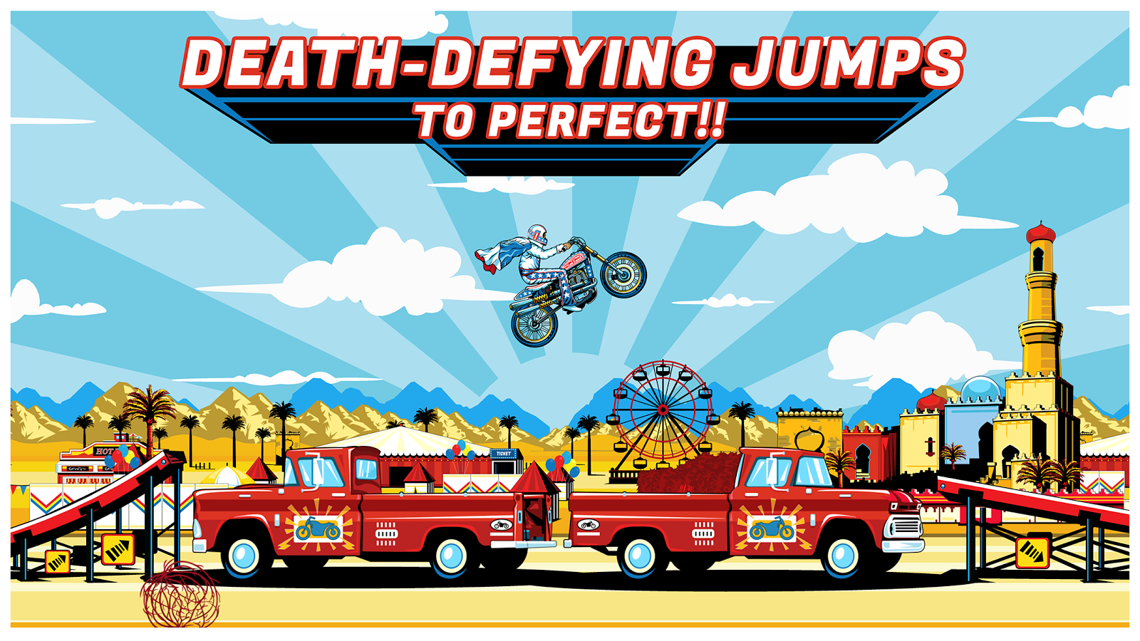 Evel Knievel- screenshot