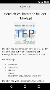 TEP-App screenshot 0