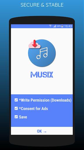 MUSIX - MP3 Player 10.3 screenshots 1