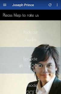 Joseph Prince - audio and podcast for PC-Windows 7,8,10 and Mac apk screenshot 2