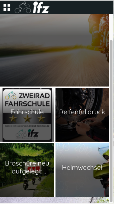 MOTO - die ifz-App- screenshot