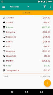 Expense Log- screenshot thumbnail