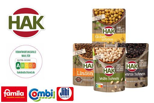 Bild für Cashback-Angebot: HAK Hülsenfrüchte im Beutel - Hak