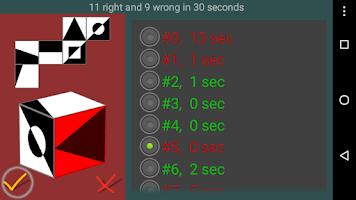 Screenshot of Cubes spatial reasoning FREE