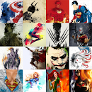 Superhero Wallpapers HD v v4.2 app icon