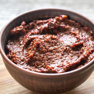 Mexican Adobo Sauce.