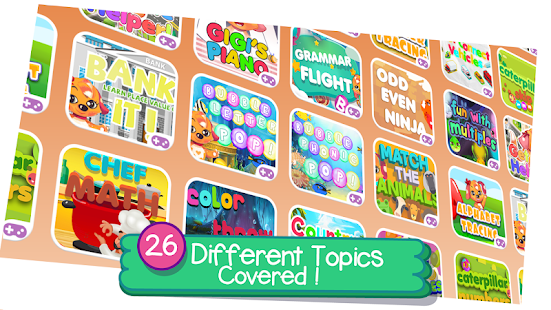 Super School: Educational Kids Games & Rhymes Screenshot
