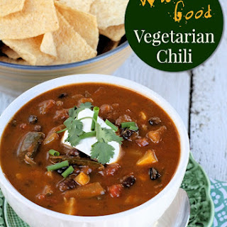 Wicked Good Vegetarian Chili
