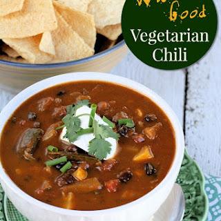 Wicked Good Vegetarian Chili.