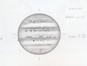 Photo: Jupiter le 1er avril 2016. T406 à 350X et 470X en bino, depuis le CAV, avec des membres du club. Bonnes conditions de seeing.